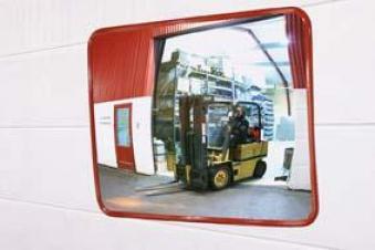 Industriespiegel rund 50 cm STRECKE Bild 1