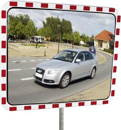 Verkehrsspiegel Acryl 60 x 80 cm STRECKE Bild 1