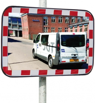 Verkehrsspiegel Folie Typ 1 Uni - Sig 6080 STRECKE Bild 1