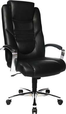 Chefsessel Soft Lux Leder schwarz Bild 1