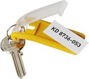 Schlüsselanhänger schwarzBeutel a 6 Stück Bild 1
