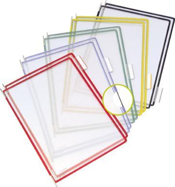 Sichttafel A4 gelb Pckg. a 10 Stück Bild 3