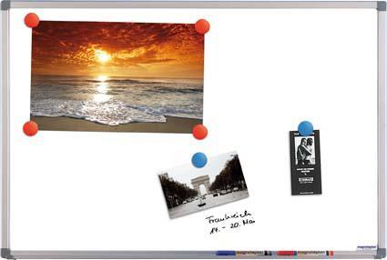 Whiteboard CC emailliert 600 x 450 mm Bild 1