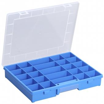 Allit Sortimentskasten EuroPlus Basic 37/25 blau 370x295x60mm Bild 1