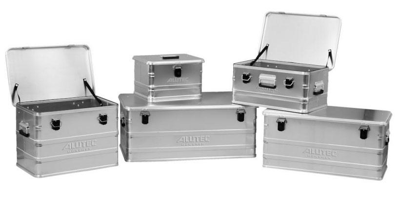 Aluminiumbox C 91 750x350x350mm Alutec Bild 1