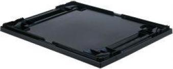 Auflagedeckel schwarz für Kastenmaß 400x300 mm Bild 1
