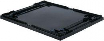 Auflagedeckel schwarz für Kastenmaß 600x400 mm Bild 1