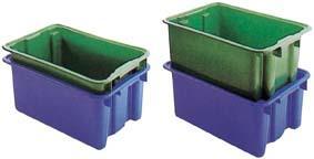 Drehstapelbehälter 65 l 600x400x350 mm gelb Bild 3