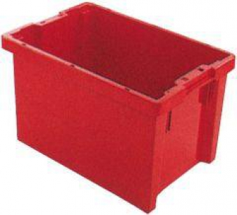 Drehstapelbehälter 65 l 600x400x350 mm gelb Bild 1
