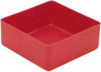 Einsatzkasten 99x99x40 mm rot Bild 1