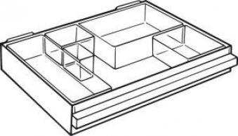 Ersatz-Schublade Typ G klar f. Magazin 250-3 Bild 1