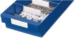 Etikett f. KB 186mm Pack a 8 Stk. weiß Bild 1