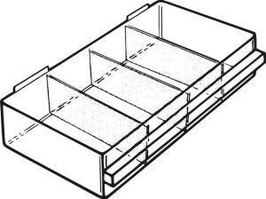 Etiketten Satz a 8 Stk. für Schublade Typ E Bild 1