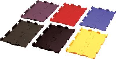 Klappdeckel schwarz f. VTK 300 Pack a 4 Stück Bild 1