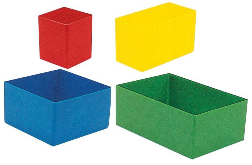 Kunststoffeinsatz 108x162x 63mm grün (H) Bild 1