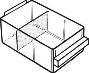 Trennwand Satz a 24 Stk. für Schublade Typ C Bild 1