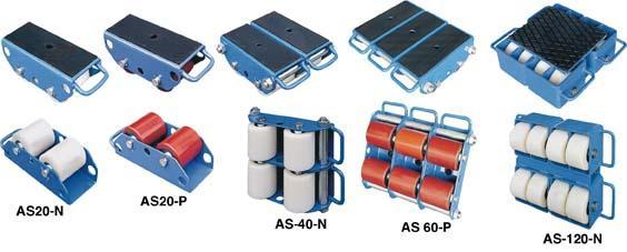 Transportroller 6 Tonnen AS60-N -34,5x27,0x11,0cm Bild 1