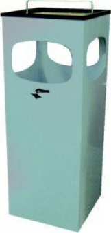 Abfall-Ascherbehälter Kuba blau Bild 1