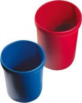 Papierkorb 30 l 405 mm blau Bild 1