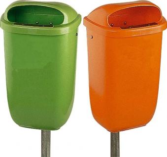 Papierkorb 50 l Kunststoff grün Bild 1