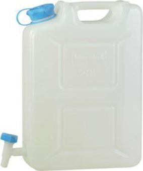 Wasserkanister Profi 20 l HD-PE natur Bild 1