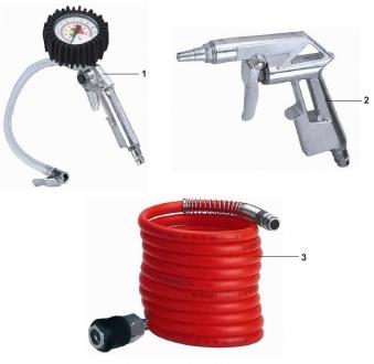 Einhell Druckluft Set 3teilig / Zubehör Kompressor Bild 1