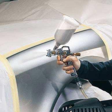Einhell Farbspritzpistole mit Fliessbecher 0,6L / Zubehör Kompressor Bild 2