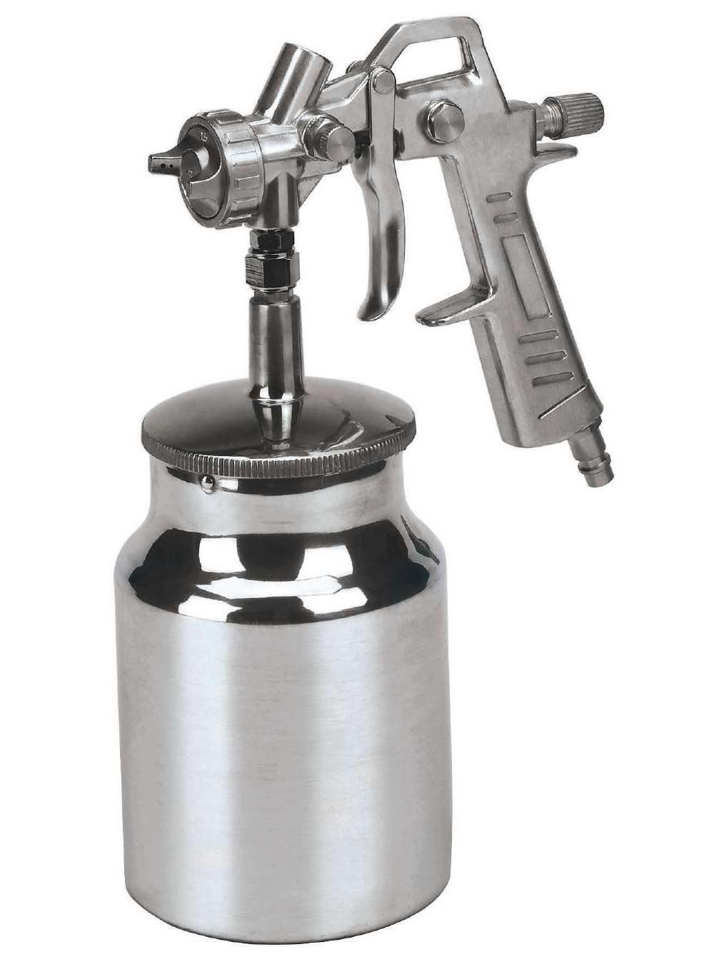 Einhell Farbspritzpistole mit Saugbecher 1 L / Zubehör Kompressor Bild 1