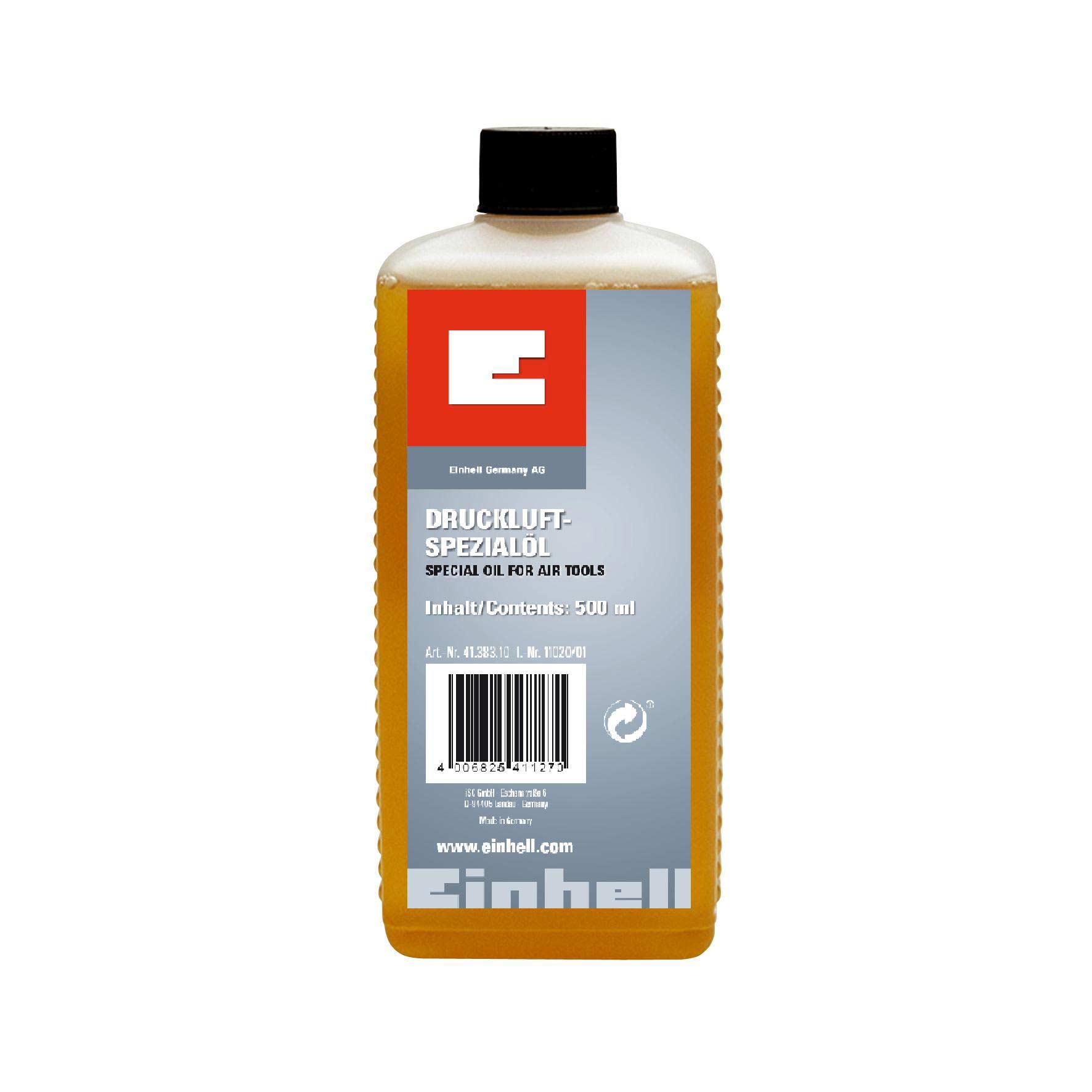 Einhell Spezialöl für Druckluft-Werkzeug 500 ml Bild 1