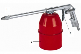 Einhell Sprühpistole mit Saugbecher / Zubehör Kompressor Bild 1