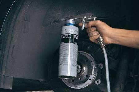 Einhell Unterbodenschutzpistole / Zubehör Kompressor Bild 2