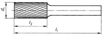 Frässt. HM ZYAS0616 5 6mm 6x16 mm Pferd Bild 3