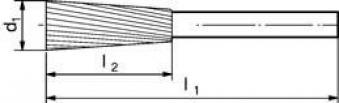 Frässt. HSS 631230 3 6mm 12x30 mm Pferd Bild 2