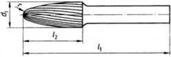 Frässt. HSS K 1020 3 6mm 10x20 mm Pferd Bild 2