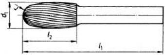 Frässt. HSS O 1625 3 6mm 16x25 mm Pferd Bild 2