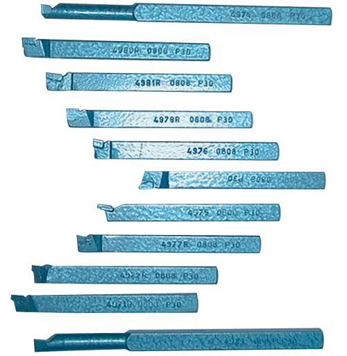 Drehmeißel Set 8 x 8 mm Güde 11-teilig Bild 2