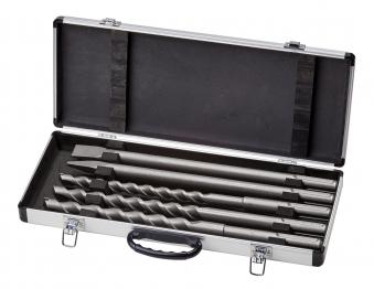 Einhell SDS-max Bohrer / Meißel Set 5/AK 5-teilig für Bohrhammer Bild 1