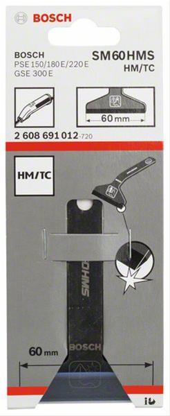 Bosch Schabermesser SM 60 HMS für Bosch Elektroschaber 1 Stück