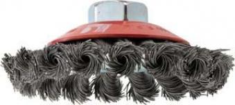 Kegelbürste Stahldraht 100x0,50mm gezopft C-PRO Bild 1