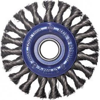 Rundbürste Rostf. 115x12mm gezopft Osborn Bild 1