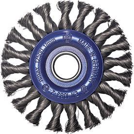 Rundbürste Stahld. 115x12mm gezopft Osborn Bild 1