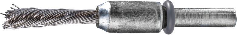 Pinselbürste rostfr. 6mm 10x25x0,35mm gez. Pferd Bild 1