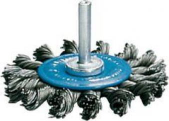 Rundbürste Stahld. 6mm 75mm gezopft Osborn Bild 1