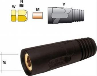 Buchsenteil Standard 300A / 35-50 qmm Bild 1