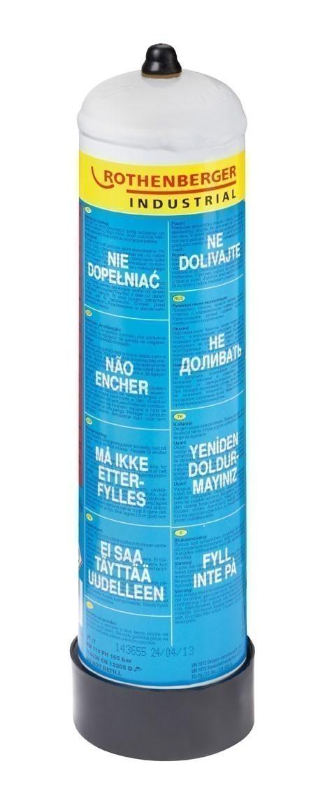 Rothenberger Sauerstoff Flasche 110 bar 930ml Bild 1