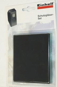 Schutzglas-Set DIN 9 klar für Einhell Schweißschutzschild 5 Stück Bild 1