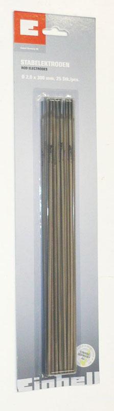 Schweißelektroden 2,0 x 300 mm Einhell 25 Stück Bild 1