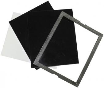 Schutzglas-Set 110 x 90 mm 4-tlg. für Güde Schweißschutzschild DIN 9