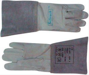 WIG-Hands. Kalbsleder Gr. M 1Paar WELDAS Bild 1