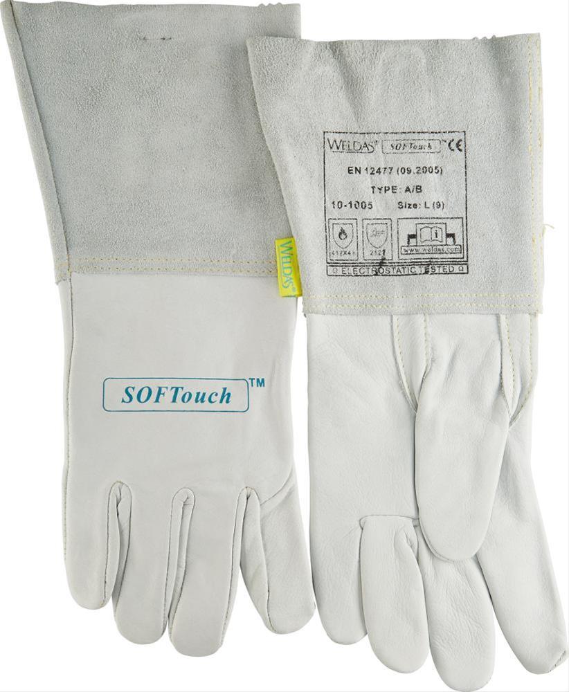 WIG-Hands. Kalbsleder Gr. XL 1Paar WELDAS Bild 1